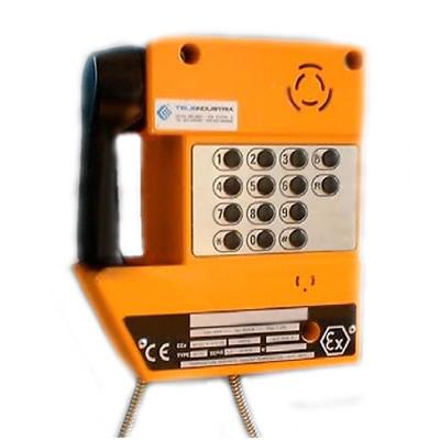 telefono atex da parete con tastiera