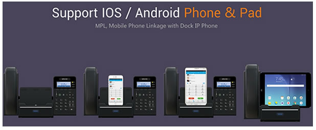 Univois dock ip phone MPL