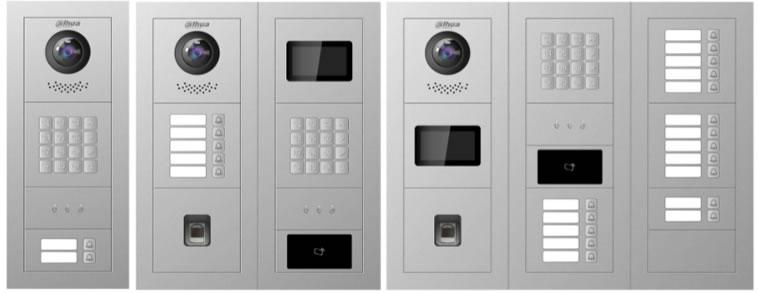 videocitofono IP dahua smartphone modulare