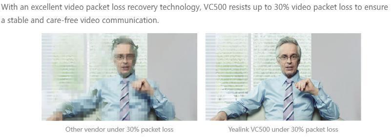 H.265 videoconferenza yealink vc500