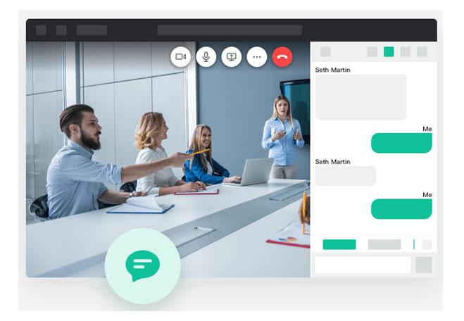Yealink meeting cloud chat