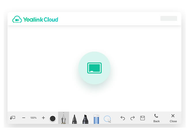 Yealink Cloud chat