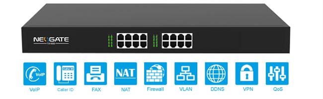 Yeastar Neogate TA1600 gateway fxs