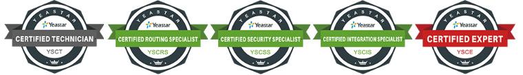 certificazione yeastar academy