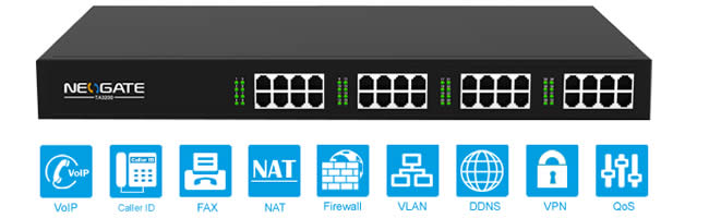 Yeatsar Neogate TA3200 gateway 32 porte fxs