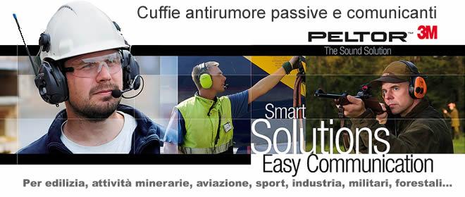 cuffie antirumore attive passive comunicanti radio bluetooth