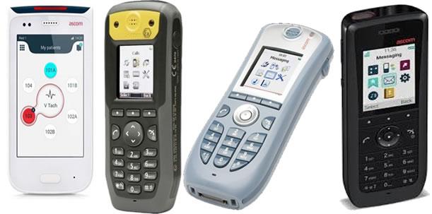 Ascom telefoni e terminali cordless dcet wifi