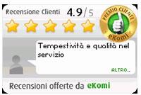 recensioni certificate ezdirect ekomi
