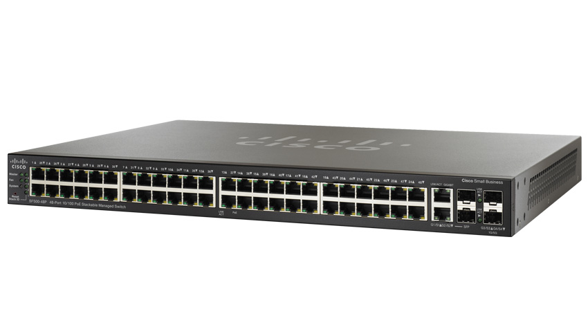 switch cisco sf500 48 porte