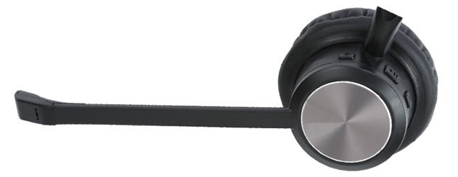 cuffia bluetooth con microfono a cancellazione di rumore