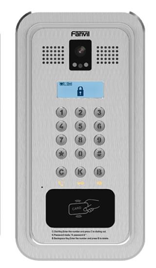 fanvil i33Vf videocitofono IP da incasso con infrarosso