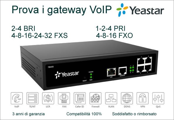Gateway voip alternativo patton