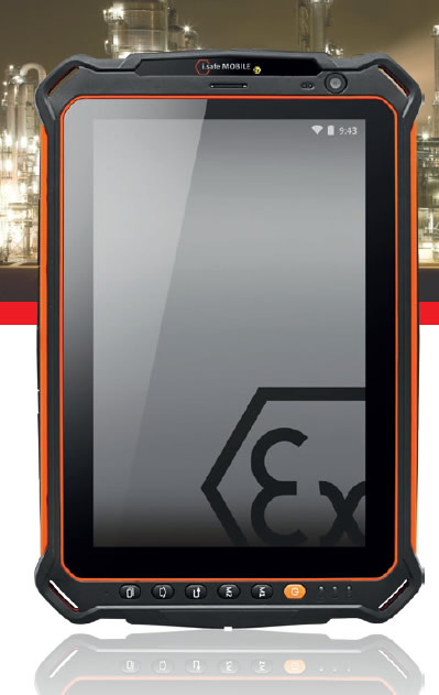 isafe is930.m1 tablet atex ip68 m1