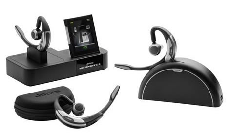 Bluetooth headset jabra motion office