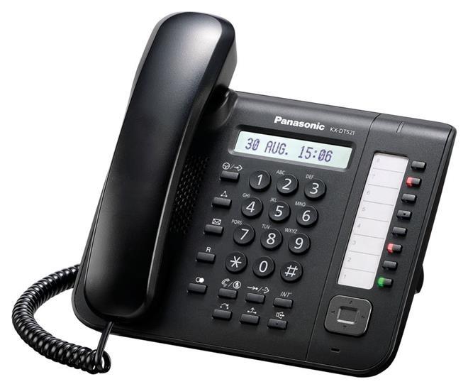 DT521 nero telefono