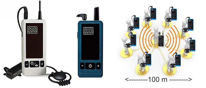 radioguida ricetrasmittente wireless