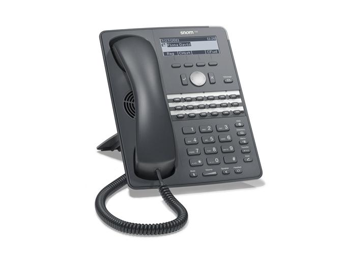 Snom 8720 telefono ip sip
