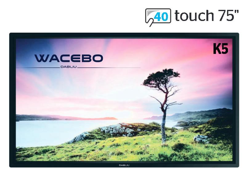 Wacebo WeTouchK5-75-40T-4K