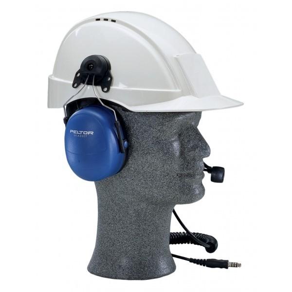 Peltor 3m cuffia atex con microfono supporto per elmetto - casco ... b04e94bd27c6