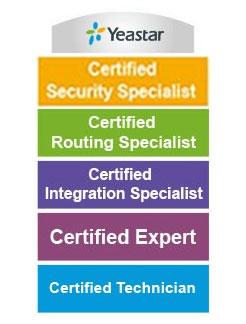 Yeastar Certified